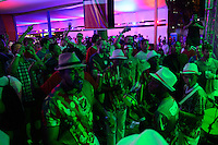 Natal, Brazil - June 15, 2014: USA Fanfest in Natal for the 2014 World Cup.