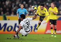 FUSSBALL   1. BUNDESLIGA   SAISON 2011/2012    15. SPIELTAG Borussia Moenchengladbach - Borussia Dortmund        03.12.2011 DANTE (li, Moenchengladbach) gegen Ilkay GUENDOGAN (re, Dortmund)