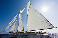 "29SEP09 Les Voiles De St Tropez 2009..The 1928 55m Herreshoff build ""Elena"".."