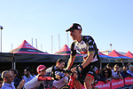 Rui Costa (POR) UAE Emirates at the Team Presentation in Alghero, Sardinia for the 100th edition of the Giro d'Italia 2017, Sardinia, Italy. 4th May 2017.<br /> Picture: Eoin Clarke | Cyclefile<br /> <br /> <br /> All photos usage must carry mandatory copyright credit (&copy; Cyclefile | Eoin Clarke)