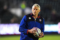 Bath Director of Rugby Todd Blackadder looks on during the pre-match warm-up. European Rugby Challenge Cup match, between Bath Rugby and Bristol Rugby on October 20, 2016 at the Recreation Ground in Bath, England. Photo by: Patrick Khachfe / Onside Images