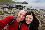 Allison and I at The Giant's Causeway in County Antrim, Northern Ireland on Saturday, June 22nd 2013. (Photo by Brian Garfinkel)