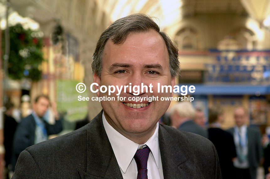 Robert Syms, MP, Conservative Party, England, Britain, UK. Taken at Conservative Conference in Blackpool. Ref: 200110083884...Copyright Image from Victor Patterson, 54 Dorchester Park, Belfast, UK, BT9 6RJ..Tel: +44 28 9066 1296.Mob: +44 7802 353836.Voicemail +44 20 8816 7153.Skype: victorpattersonbelfast.Email: victorpatterson@mac.com.Email: victorpatterson@ireland.com (back-up)..IMPORTANT: If you wish to use this image or any other of my images please go to www.victorpatterson.com and click on the Terms & Conditions. Then contact me by email or phone with the reference number(s) of the image(s) concerned.