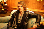 NEW YORK  - DECMEBER 05, 2007:  Jamie Bower poses for portraits in the Ritz-Carlton on December 05, 2007 in New York City.  (Photo by Michael Nagle)