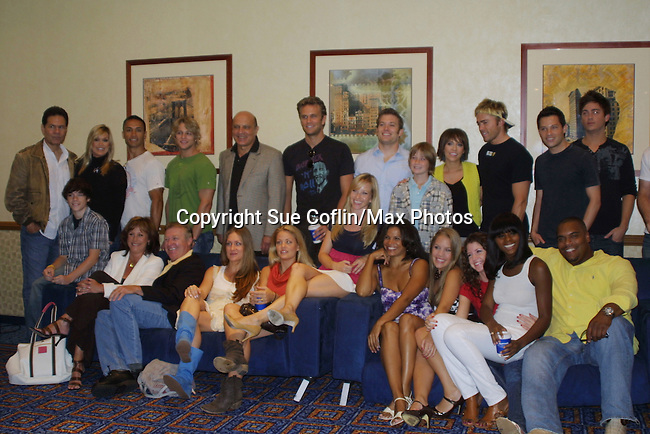 Cast of One Life To Live Fan Club Luncheon on August 16, 2008 at the New York Marriott Marquis, New York, New York.  (Photo by Sue Coflin/Max Photos)