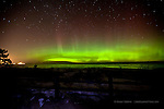 aurora northern lights over Marquette Michigan winter 2012 aurora borealis northern lights in the upper peninsula of michigan