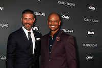 BURBANK, CA - AUGUST 29: Greg Vaughan, Dondre T. Whitfield<br />