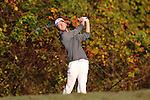 31 October 2016: Davidson College's Jack Lang. The Third Round of the 2016 Bridgestone Golf Collegiate NCAA Men's Golf Tournament hosted by the University of North Carolina Greensboro Spartans was held on the West Course at the Grandover Resort in Greensboro, North Carolina.