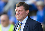 St Johnstone v Dundee...13.09.14  SPFL<br /> Saints boss Tommy Wright<br /> Picture by Graeme Hart.<br /> Copyright Perthshire Picture Agency<br /> Tel: 01738 623350  Mobile: 07990 594431