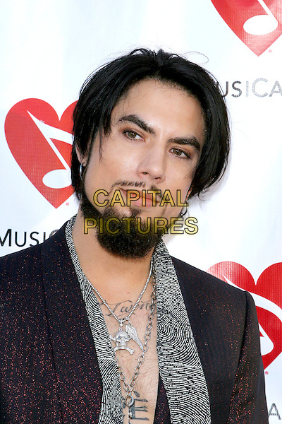 DAVE NAVARRO.Attends The Musicares Map Fund Concert to Honor Goldenvoice held at The Henry Fonda Music Box Theatre in Hollywood, California, USA, May 20th 2005..portrait headshot beard grey scarf tattoo chest necklaces cross .Ref: ADM.www.capitalpictures.com.sales@capitalpictures.com.©JWong/AdMedia/Capital Pictures.