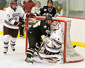 Mark Dube (Army - 15), Alex Evin (Colgate - 1) - The host Colgate University Raiders defeated the Army Black Knights 3-1 in the first Cape Cod Classic at the Hyannis Youth and Community Center in Hyannis, MA.