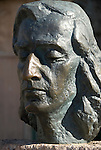 Sculpture of Frederic Chopin in Valldemossa, Mallorca, Spain