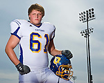 Oxford High's Joel Forrester poses at Bobby Holcomb Field in Oxford, Miss. on Tuesday, September 13, 2011.