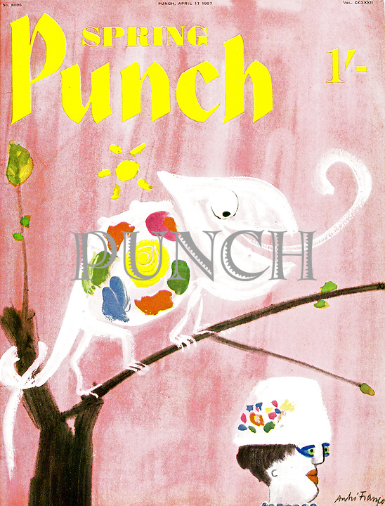 Punch cover Spring Number 17 April 1957