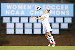04 October 2012: UNC's Hanna Gardner. The University of North Carolina Tar Heels defeated the Boston College Eagles 1-0 at Fetzer Field in Chapel Hill, North Carolina in a 2012 NCAA Division I Women's Soccer game.