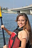 Royalty Free Stock photo of  Kayaking