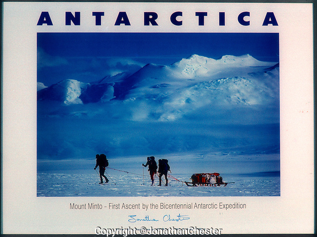 "(Feb 18th 1988) Greg Mortimer,Lyle Closs, Glenn Singleman,Chris Hilton Lincoln Hall (RIP) and Jonathan Chester made the first ascent of Mt Minto 4163m in Antarctica's, North Victoria Land on the epic  three-month-long ""Australian Bicentennial Antarctica Expedition"""