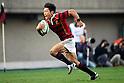 Takaaki Nakazuru (Waseda), November 23, 2011 - Rugby : Kanto Intercollegiate Rugby Games match between Waseda University 54-24 Keio University at Chichibunomiya Rugby Stadium, Tokyo, Japan. (Photo by Daiju Kitamura/AFLO SPORT) [1045]