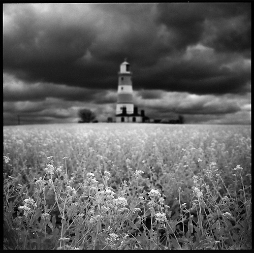 Happisburgh Lighthouse II, Norfolk 2013 by Paul Cooklin
