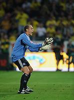 Fussball Bundesliga Saison 2011/2012 1. Spieltag Borussia Dortmund - Hamburger SV Jaroslav DROBNY (HSV) flehend.