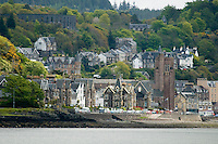 Oban, Hebrides, Scotland, May 2010. The port of Oban is our starting point. Dutch Tallship Thalassa sails between the islands along the Scotish west coast in search of the quality single malt whisky that is produced by the many distilleries. Photo by Frits Meyst/Adventure4ever.com