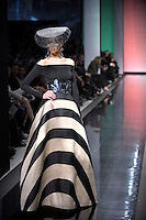 Italian fashion designer Gattinoni featured at Rome Fashion Week,Fashion show. Presentation of S/S 2013.Italian Haute Couture collection, January 28, 2013