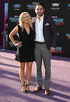 19 April 2017 - Hollywood, California - Emily Osment, Jonathan Sadowski. Premiere Of Disney And Marvel's &quot;Guardians Of The Galaxy Vol. 2&quot; held at the Dolby Theatre. <br /> CAP/ADM<br /> &copy;ADM/Capital Pictures