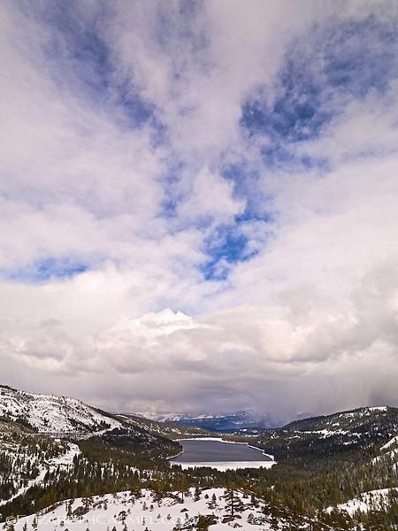 Donner Lake in Winter