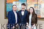 Enjoying the Crotta GAA Social at Ballyroe Heights on Saturday were John Rohan, Eamon Rohan (Crotta Minor) and Ciara Rohan
