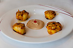 Berkeley, California: Ajanta Indian Restaurant.  Tandoori Scallops. Photo copyright Lee Foster.  Photo # california123437