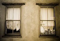 Double Adobe Windows - Sepia - Arizona
