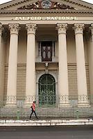 The Palacio Nacional or National Palace in downtown San Salvador, El Salvador