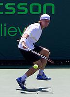Peter LUCZAK (AUS) against Robin SODERLING (SWE) in the seocnd round of the men's singles. Soderling beat Luczak 7-6 6-0..International Tennis - 2010 ATP World Tour - Sony Ericsson Open - Crandon Park Tennis Center - Key Biscayne - Miami - Florida - USA - Sat 27 Mar 2010..© Frey - Amn Images, Level 1, Barry House, 20-22 Worple Road, London, SW19 4DH, UK .Tel - +44 20 8947 0100.Fax -+44 20 8947 0117