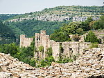 Walls of the fortess of Tsarevets, Veliko Tarnovo