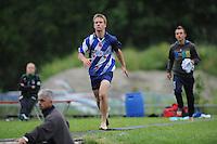 FIERJLEPPEN: JOURE: 18-06-2014, ROC Friese Poort Competitie, Jongens A, Jan Teade Nauta, ©foto Martin de Jong