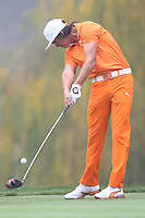 12/02/12 Thousand Oaks, CA: Rickie Fowler during the final round of the 2012 World Challenge presented by Northwestern Mutual by 3 strokes over Keegan Bradley . Held at the Sherwood Country Club.