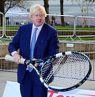 NOV 24 Boris Johnson meets NEC Wheelchair Tennis Masters