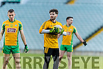Shane Murphy Dr. Crokes in action against  Corofin in the Semi Final of the Senior Football Club Championship at the Gaelic Grounds, Limerick on Saturday.