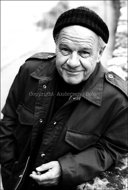 Lawrence Durrell, Paris 1984.