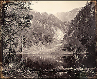 BNPS.co.uk (01202 558833)<br /> Pic: DominicWinter/BNPS<br /> <br /> Mountain with lakes.<br /> <br /> Fascinating 150 year-old photographs of India taken in the aftermath of the failed mutiny have sold for almost &pound;8,000 at auction.<br /> <br /> The images, which date from 1863 to 1870, capture native soldiers with their weapons and picturesque landscapes and were taken by celebrated 19th century photographer Samuel Bourne.<br /> <br /> They went for a hammer price of &pound;6,400 to a private collector from America who bid online with extra fees pushing the overall price above &pound;7,800.<br /> <br /> Together with Charles Shepherd, Bourne set up photo studio Bourne &amp; Shepherd first in Simla in 1863 and later in Calcutta.