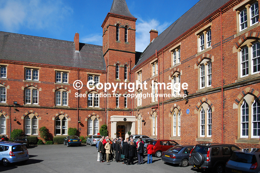St Malachy's College, Belfast, N Ireland, UK, 200903312058..Copyright Image from Victor Patterson, 54 Dorchester Park, Belfast, UK, BT9 6RJ..Tel: +44 28 9066 1296.Mob: +44 7802 353836.Voicemail +44 20 8816 7153.Skype: victorpattersonbelfast.Email: victorpatterson@mac.com.Email: victorpatterson@ireland.com (back-up)..IMPORTANT: If you wish to use this image or any other of my images please go to www.victorpatterson.com and click on the Terms & Conditions. Then contact me by email or phone with the reference number(s) of the image(s) concerned.