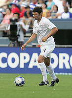 Michael Parkhurst controls the ball. USA defeated Grenada 4-0 during the First Round of the 2009 CONCACAF Gold Cup at Qwest Field in Seattle, Washington on July 4, 2009.