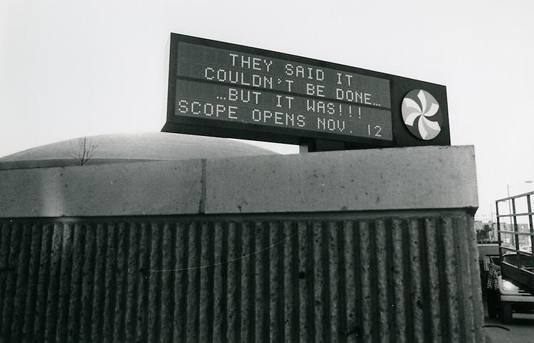 1971 November 05..Redevelopment.Downtown North (R-8)..Scope Convention Center..Millard Arnold.NEG#..