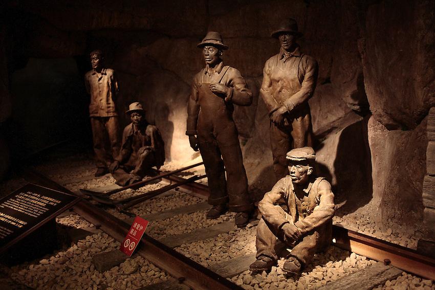 Au musée de Xiamen on préfère évoquer le sort des centaines de milliers de coolies partis travailler au Etats-Unis pour y construire le chemin de fer.