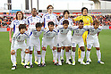 Ventforet Kofu team group line-up, DECEMBER 3, 2011 - Football / Soccer : Ventforet Kofu team group shot (Top row - L to R) Atsushi Katagiri, Daniel, Mike Havenaar, Katsuya Ishihara, Kota Ogi, (Bottom row - L to R) Yutaka Yoshida, Yoshifumi Kashiwa, Kazunari Hosaka, Hideomi Yamamoto, Paulinho and Atsushi Izawa before the 2011 J.League Division 1 match between Omiya Ardija 3-1 Ventforet Kofu at NACK5 Stadium Omiya in Saitama, Japan. (Photo by Hiroyuki Sato/AFLO)