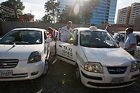 USA fans take a group of taxis to watch the United States play Guatemala at Estadio Mateo Flores in Guatemala City, Guatemala in a World Cup Qualifier on Tue. June 12, 2012.