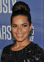 New York, NY- September 20: America Ferrera attend National Geographic's 'Years Of Living Dangerously' new season world premiere at the American Museum of Natural History on September 21, 2016 in New York City.@John Palmer / Media Punch