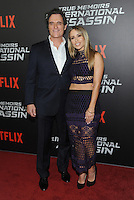 NEW YORK, NY - NOVEMBER 03:  Kim Coates and Zulay Henao attends the 'True Memoirs Of An International Assassin' New York premiere at AMC Lincoln Square Theater on November 3, 2016 in New York City. Photo by John Palmer/ MediaPunch