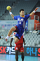 Kyosuke Tomita (JPN),  OCTOBER 27, 2011 - Handball : Asian Men's Qualification for the London 2012 Olympic Games match between Japan 34-29 Kazakhstan in Seoul, South Korea.  (Photo by Takahisa Hirano/AFLO)