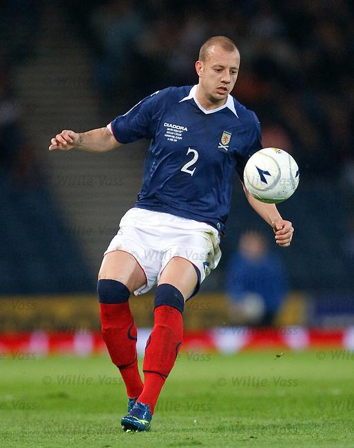 Alan Hutton, Scotland
